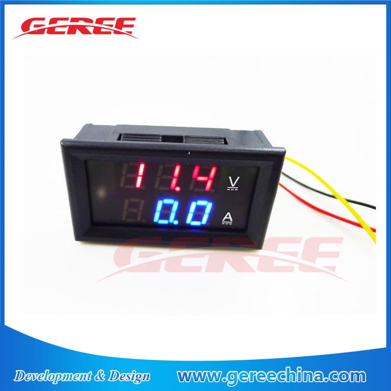 Dc digital voltímetro e amperímetro DC 4.5 - 30 V 0-100A com shunt