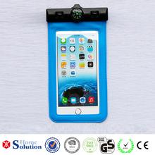 New products 2016 waterproof phone case, pvc waterproof phone bag from 10 years supplier, good price phone waterproof bag