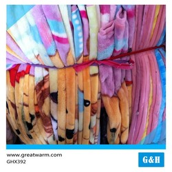Latest Design Heated Print stock Coral Fleece 3d Printed Blanket Textile Factory China