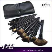 New product 32pcs black make up brush black bag 32pcs makeup brush