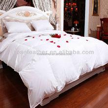 high quality oeko-tex standard goose down quilt/duvet/comforter