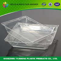 Biodegradable food packaging pizza slice tray