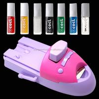 New hot sell nail art print machine, nail stamping kit