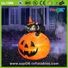 halloween pumpkin light decorations inflatable halloween decoration