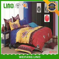 Beautiful new design colorful cheap patchwotk Bali bedding sets