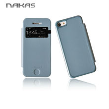 Wholesale various colors protecting function TPU leather flip cover for iphone 5