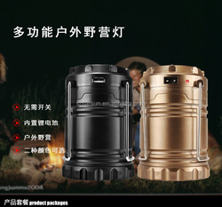 Lomon Plastic Camping Lantern,6 Led Rechargeable Lantern,Usb Solar Lantern With Mobile Phone Charger