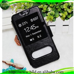 "Hot selling universal two mobile phone leather case for 3.8""-5.8"" phone"