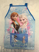2015 Baby Girls Frozen Apron/Baby Cooking Apron/Baby Princess Elsa&Anna Waterproof Sleeveless Apron