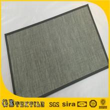 scratch resistant waterproof grey striped rugs