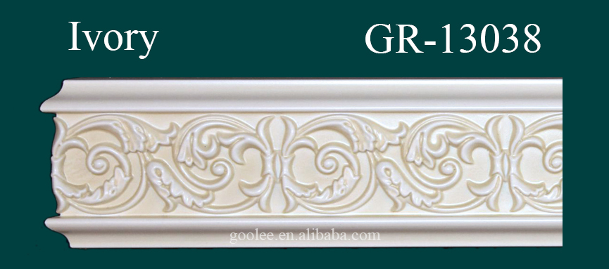 Environmental and fashionable hand carved skirting boards