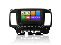 In dash Car Multimedia system for Mitsubishi Lancer , Car multimedia players for Mitsubishi