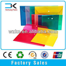 New design Document carry clear plastic file