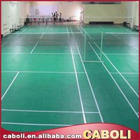 Caboli water - based two component PU outdoor sport playground floor coating