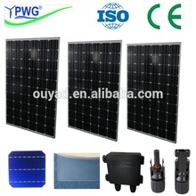 China Manufacture Supply Mono 250W Solar Panel Price List