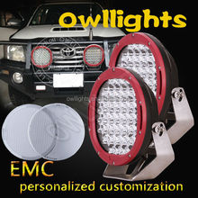 2015 4x4 Accessories Hotsale 9-32v 9 inch 10500LM 111w LED 4wd Spot Light LED Truck Lights 9inch 4wd LED Spot Light