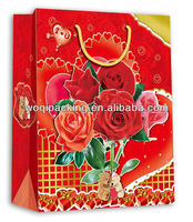Hot Sales Green Recycled red bag wedding paper bag