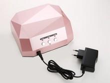 Luxe lampe uv 12 w ccfl nail lampe pour personnels