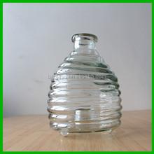 Grotesque glass bottle innovative design glass bottle for decoration