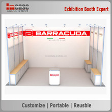 Quick delivery outdoor modular exhibition trade show booth stand