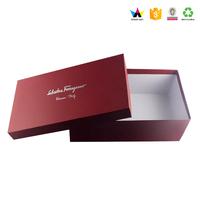 Custom Printed Luxury Decorative Paper Cardboard Shoe Box Wholesale