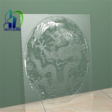 sandblasted art glass for home and office and KTV and Bar decoration