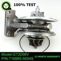 GT2056V Turbocharger core turbo chra 716885-5004S 716885-0001 for Volkswagen Touareg 2.5 TDI