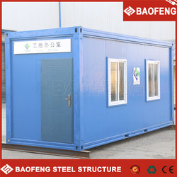 fireproof flat deck container