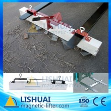Hang-Type Car Used Magnetic Sweeper for Road Cleaning