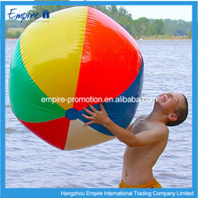 Colourfull Plastic Inflatable Beach Ball Girls