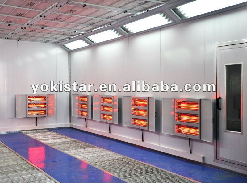 Paint Booth Heat Lamps | Like Success
