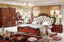 american style king size bedroom sets adult bedroom sets made in China furniture