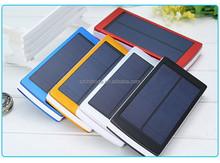 Mobile Phone Cellphone Dual USB Portable Solar Power Bank 30000mAh Solar Charger
