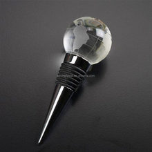 crystal ball bottle stopper