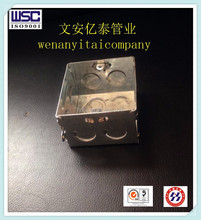 galvanized electrical terminal box for metal conduit made in hebei wenan
