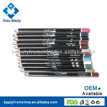 New Hot Beauty Products Cosmetic propelling eyeliner pencil with aluminium cap