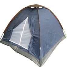 Easy folding outdoor camping tent for 3-4 persons