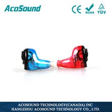 Programmable Acosound 610 Standard CIC China amplifier manufacturer ,TUV CE ISO Approved Invisible Digital Hearing Aids