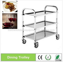 Used Hotel Food Service Trolley/Dining Service Cart/Kitchen Restaurant Equipment BN-T23