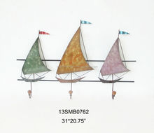 Sailing style colorful clothes hanger hooks