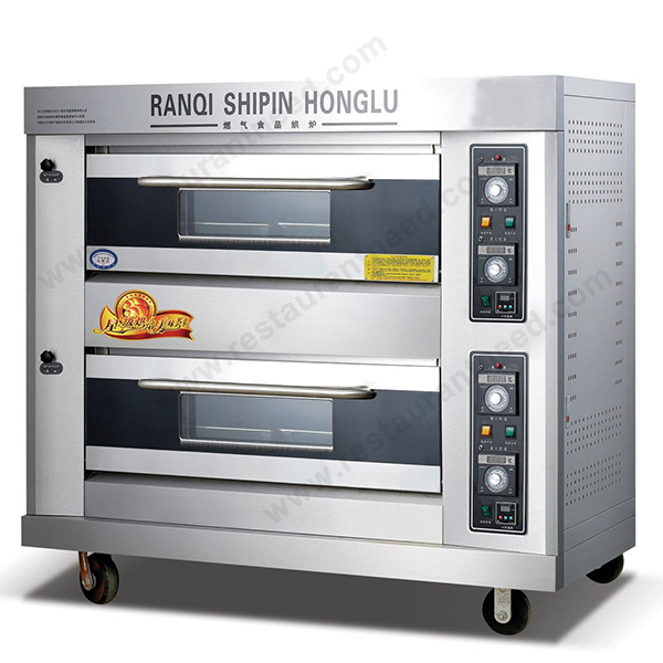 Shinelong Industrial Gas/electric K263 2-layer 4-tray Kitchen Oven ...