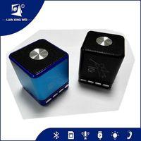 portable usb sd card mini wireless speaker fm radio