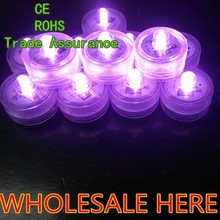 LED Submersible Tea Light Wedding Party Event Decoration Waterproof