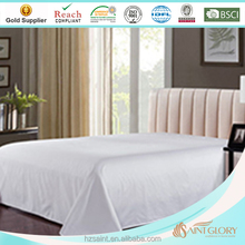 white color high quality hotel winter hotel bed sheets