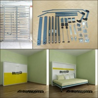 queen size wall bed folding bed mechanism