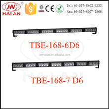Amber/red/blue/white LED strobe warning bar light for auto cars TBE-168-D6 CE/IP65/ROHS