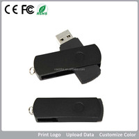 High Quality Plastic and Metal Usb Pen Drive, Hot Selling Twister Usb Flash Driver with Keyring