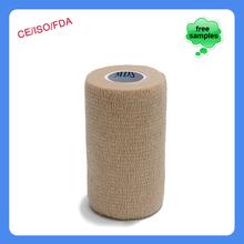 15 cm x 4.5 m Patterned Coflex impresso Elastic bandagem coesa