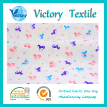 well-done Printed Single Jersey knitting Fabrics made in China