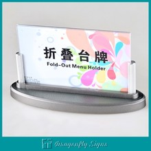 Table stands & Menu holder